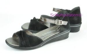 Ricosta Sandale DAFINA schwarz Klettriemen, Gr. 37-38 (DAFINA: Gr. 37)