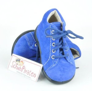 Ricosta Lauflernschuhe PREPPY kobaltblau, Gr. 18 + 20 + 22 + 24 (Preppy : Gr. 18)