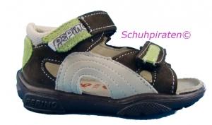 Ricosta Lauflerner Sandale TROSPI in braun/grün Gr. 19 + 20 (Trospi: Gr. 19)