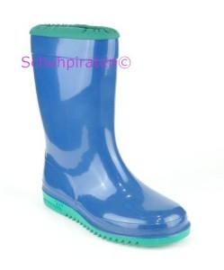 Romika Gummistiefel KADETT blau-minze, Gr. 32 + 34+35 (Kadett blau-minze: 34)