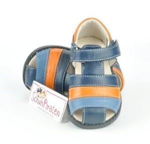 See Kai Run trendige Lauflernschuhe / geschlossene Sandale Modell DARREL in dunkelblau/blau/orange mit Klettverschluß, Gr. 20 / 21 (DARREL: Gr. 20)