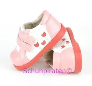 See Kai Run modische Lauflernschuhe Modell ZAYNA im Sneaker-Look mit Klettverschluß in rosa/weiß, Gr. 19-22 (Zayna: Gr. 19)
