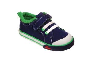 See Kai Run Sneaker aus Stoff Modell STEVIE, Gr. 20-21 + 25 (STEVIE: Gr. 21)