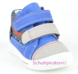 Superfit Lauflernschuhe GoreTex royalblau/grau, Gr. 19-21 (Sneaker 0-50-85: Gr. 19)