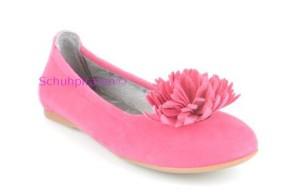 Superfit Ballerina pink - Velourleder, Gr. 30+32-33+35+36+38+39+40 (Ballerina 0-195-63: Gr. 35)