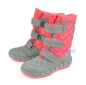Superfit Goretex Winterstiefel grau/pink, Gr. 23-24+26+28+30-31+33-35 (Winterstiefel 1-11-06: Gr. 24)