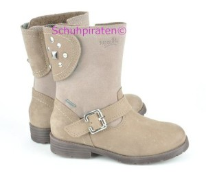 Superfit Goretex Winterstiefel in taupe, (Winterstiefel 1-178-43: Gr. 27)