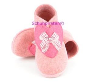 Superfit warme Hausschuhe in rosa/pink, Gr. 20-21 + 23-26 (Schleife 1-295-61: Gr. 26)