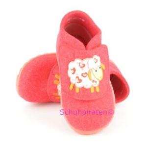 Superfit warme Hausschuhe in pink Schäfchen, Gr. 20-21 + 23 + 25 (Schäfchen 1-295-63: Gr. 25)