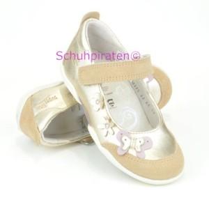 Superfit Ballerina gold/beige Schmetterling, Gr. 25-30 (Ballerina 2-215-23: Gr. 26)