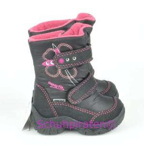 Superfit Goretex Winterstiefel schwarz/pink, Gr. 19-20 + 23 + 28 (Winterstiefel 9-91-00: Gr. 19)