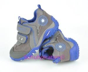 Superfit Sneaker grau/royalblau Goretex, Gr. 22 + 25 (Sneaker 9-232-07: Gr. 25)
