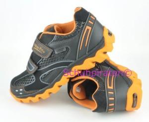 Superfit Halbschuhe schwarz/orange mit Texmembrane, Gr.  35 + 37-40 (Halbschuhe 9-482-03: Gr. 35)