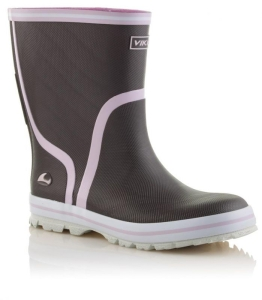 Viking Gummistiefel in BRAUN, Gr. 31 + 33-35 (New Splash braun: Gr. 33)