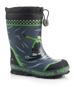 Viking Winter Gummistiefel FREESTYLE WINTER BOY (Freestyle Winter Boy: Gr. 33)