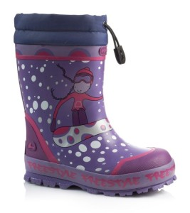 Viking Gummistiefel gefüttert lila/pink, Gr. 27+29+31+33+35 (Freestyle Winter Girl: Gr. 27)