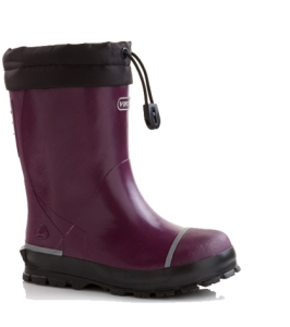 Viking Gummistiefel gefüttert in plum, Gr. 29 + 33-34 + 36 (classic winter plum: Gr. 29)