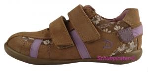 Däumling Sneaker in hellbraun - lila, Gr.  29 + 32 (M2519/309: Gr. 29)