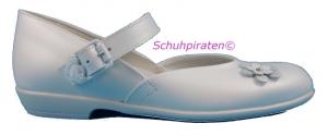 Däumling Kommunionschuhe perlato weiß, Gr.  37 (M5003/171: Gr. 37 Weite M)