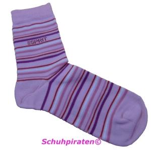 Esprit Socken rosa mit Streifen, Gr. 27-30 (Socken rosa 18342: Gr. 27-30)