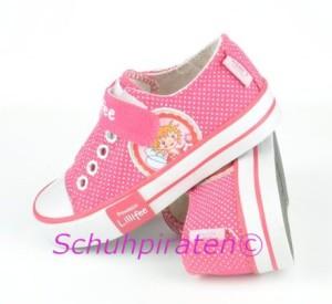 Lillifee Chucks Slip on Version in pink, Gr. 33-35 (Lillifee Maja: Gr. 33)