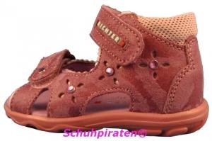 Richter Kinder Sandale / Lauflernschuh in rosapink mit 2-fach Klettverschluß, Gr. 19-20 (rosapink : Gr. 19)