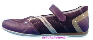 Richter Riemenballerina brombeer, Gr 35 (Ballerina 37097571: Gr. 35)