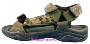 Ricosta Sandale ALLER olive Camouflage, Gr. 40 (ALLER: Gr. 40)