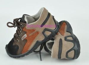 Ricosta Sneaker BASU braun mit Texmembrane, Gr. 20 + 22 (BASU: Gr. 20)