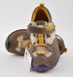 Ricosta trendiger Sneaker / Halbschuh CASI in beige/taupe Gr. 20-21 (Casi: Gr. 20)