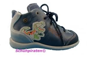Ricosta knöchelhoher Lauflerner / Halbschuh DINO in blau/grau Gr. 18-19 (DINO: Gr. 19)