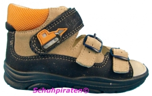 Superfit Lauflernschuh / Sandale in blau/sand/orange Gr. 20 (Sandale 4-11-24: Gr. 20)