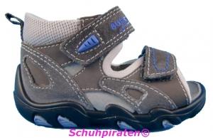 Superfit Lauflernschuhsandale in grau/blau, Gr.20 (Sandale 4-31-06: Gr. 20)