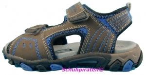 Superfit Sandale 2-fach Klettverschluß in grau/blau Gr. 40 (Sandale 4-446-06: Gr. 40)