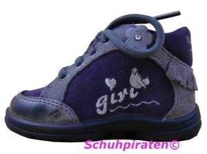 Superfit Lauflernschuhe lila/hellgrau, Gr. 19 + 21 (Schnürer 5-326-67: Gr. 19)
