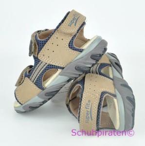 Superfit Sandale in sand/d.blau, Gr. 32 + 34-35 (Sandale 6-176-24: Gr. 32)