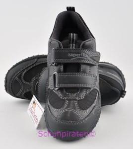 Superfit Sneaker schwarz Nappaleder/Textil Gr. 39 (Sneaker 6-224-01: Gr. 39)