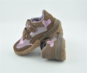 Superfit Sneaker in fango/ rosa. Gr. 31 (Sneaker 6-135-31: Gr. 31)