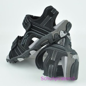 Superfit Sandale in schwarz, Gr. 36-40 (Sandale 6-446-00: Gr. 38)