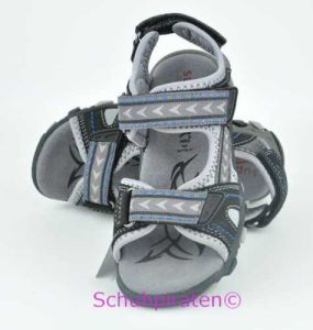 Superfit Sandale schwarz/grau, Gr.  34 (Sandale 6-449-02: Gr. 34)