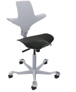 Bürostuhl HAG Capisco Puls 8020 mit mit stoffbezogenem Sitz