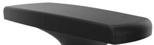 Armauflagenpaar Kunststoff für Bürostuhl Sedus netwin