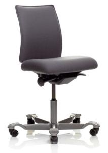 Bürostuhl HAG H05 5200 vollständig gepolstert, niedriger Rückenlehne