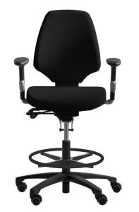 Bürostuhl RH Activ 222 mit großem Sitz und hohem Rücken