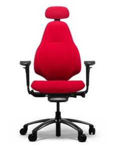 Bürostuhl RH Mereo 220 Schwarz mit hoher Rückenlehne