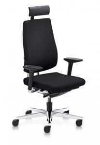 Bürostuhl Sedus black dot mit hoher Rückenlehne und Kopfstütze bd-103