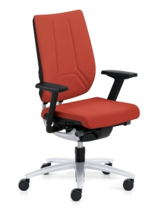 Bürostuhl Sedus swing up - Rückenlehne mit Flachpolster