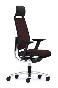 Bürostuhl Sedus swing up mit Nackenstütze - Rückenlehne mit Flachpolster