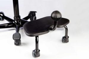 HAG StepUp (Gestell: Silber glänzende Lackierung und schwarze Kunststoffteile)