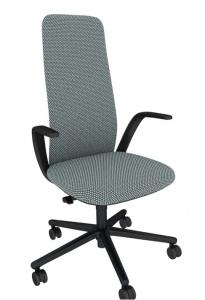 Haworth Büro-und Konferenzdrehstuhl Nia mit hoher Rückenlehne